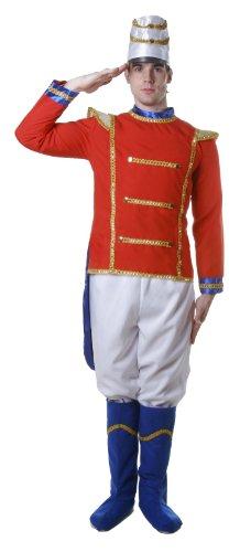 Dress Up America 344-XL Deluxe Spielzeug Soldat Kostüm Für Erwachsene, X-Large (122-132 cm Taille, 173-193 cm Höhe)