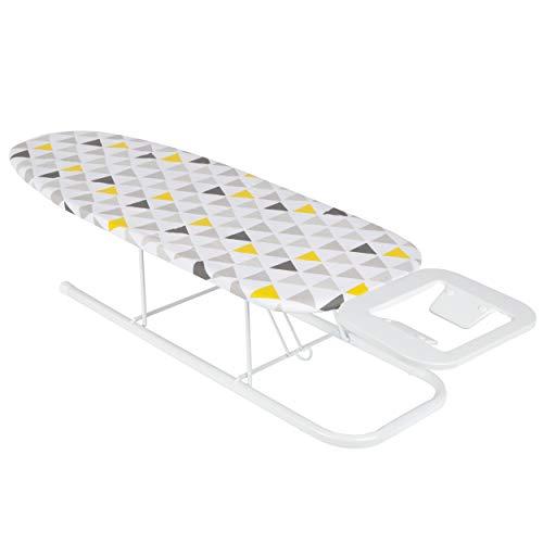 ONVAYA, asse da stiro da tavolo, mini asse da stiro, piccolo, salvaspazio (design triangolare)