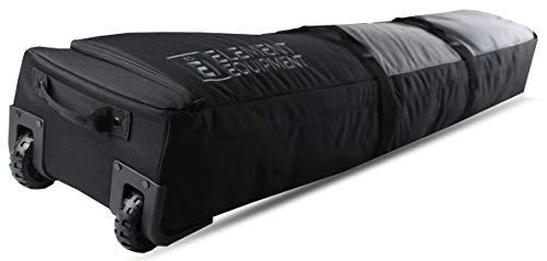 Element Equipment Wheeled Padded Ski Bag Ultimate Double - Premium High End...