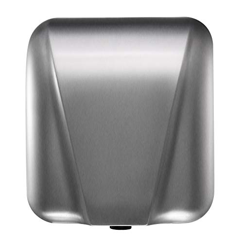 VALENS Stainless Steel Automatic High-Speed Hand Dryer, Heavy-Duty Wall Mounted Electric Hand Dryer 1800w for Commercial and Household Restrooms