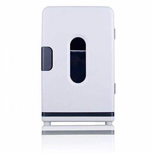 Réfrigérateur à Voiture à Double Refroidissement 18L Frigo-réfrigérateur à Double frigo,Blanc,36 * 27 * 43
