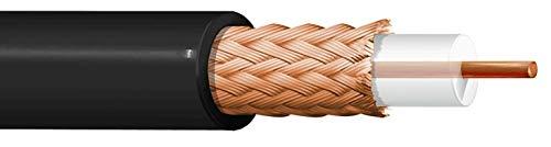 100Meter Kabel RG59Koaxialkabel Widerstand 75Ohm Dielektrikum PE 3,7ITC Belden