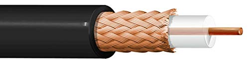 100 Meter Kabel RG59 Koaxial Impedanz 75 Ohm Dielektrik PE 3,7 ITC Belden