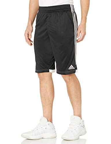 adidas Men's Basketball 3G Speed Shorts, Black, Large