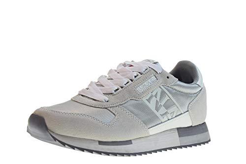 NAPAPIJRI Scarpe Donna Sneakers Basse N0YJT3S00 9SVICKY01/MES Silver Taglia 41 Grigio