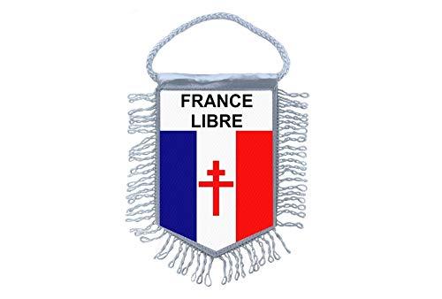 Akachafactory Mini banner vlag pennant venster spiegel auto's land banner Frankrijk gratis Frans