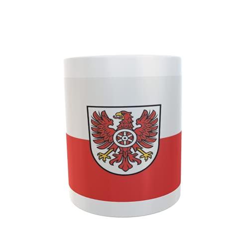 U24 Tasse Kaffeebecher Mug Cup Flagge Landkreis Eichsfeld