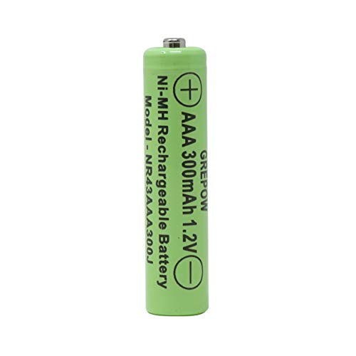 Moonrays 97146 AAA 300mah-4 Pack NiMh, Silver