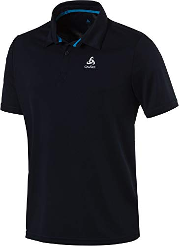 Odlo Polo s/s CARDADA Shirt Homme, Diving Navy, FR : S (Taille Fabricant : S)