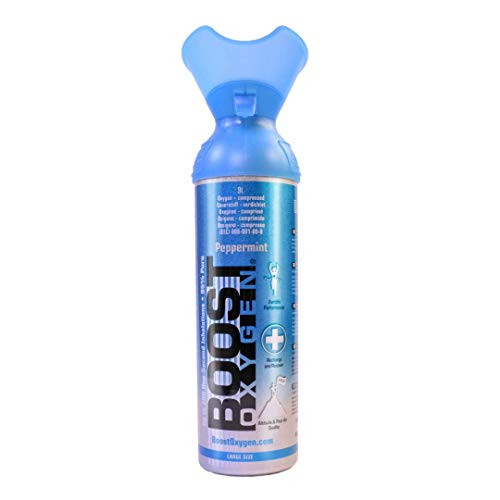 Boost Oxygen Peppermint 9L 95% Pure Oxygen - 1 count