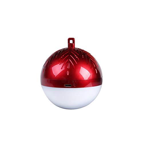NAttnJf recordatorios del teléfono Luz de LED Altavoz Bluetooth decoración para Colgar La Luz de Navidad