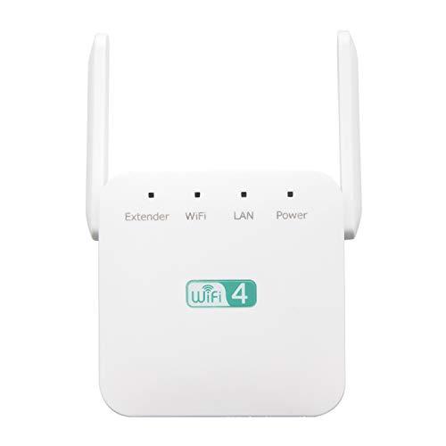 300 Mbps 2,4 GHz Wireless WiFi Internet Signaalversterker Repeater Range Extender met 2 externe antennes voor thuiskantoor UK Plug