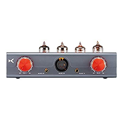 Linsoul Xduoo MT-604 Tube + Transistor Hybrid Headphone Amplifier Pre-Amplifier with Four 6J1 Balanced Tubes, Independent L&R Volume Control from Xduoo