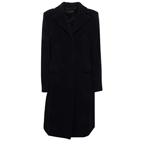 MARELLA F8876 Cappotto Donna Wool Black Jacket Coat Woman [46]