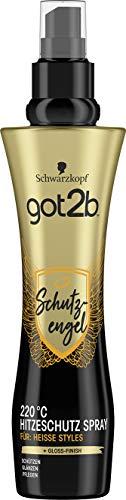 Schwarzkopf got2b Spray Schutzengel 220°C Hitzeschutz, 1er Pack (1 x...