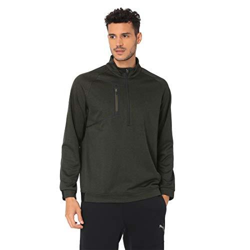 Preisvergleich Produktbild Puma Golf Herren Envoy 1 / 4 Zip Sweatshirt Forest Night XL