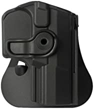 IMI Defense Walther Q5 Match Holster Retention roto Paddle with Tactical Trigger Guard Lock Safety for PPQ 9mm & .40 Pistols M1 / M2 / Navy SD / P99Q / Q5 Champion MM