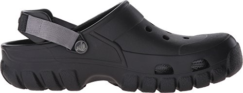 Crocs Offroad Sport - Zuecos de sintético para hombre, Nero (Black/Graphite), 45-46