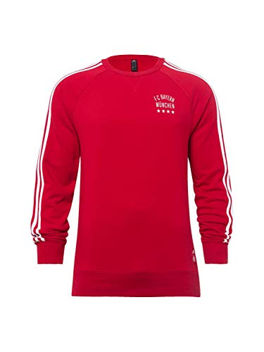 FC Bayern München Lifestyle Sweatshirt rot, XXL