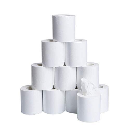 GJJSZ Toallas de Papel, Toallas de Papel Blanco,Papel higiénico Suave,Toallas de Papel de Tres Capas para el hogar,Toallas de Papel Suaves para la Piel D311