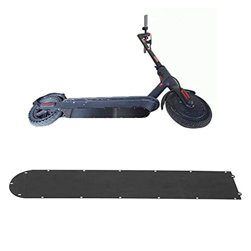 Accesorio para Scooter Anillo Impermeable Sello Placa Inferior Protección Cubierta Inferior de la Batería Cubierta Inferior de la Batería de Acero Inoxidable Negro para Xiaomi Mijia M365