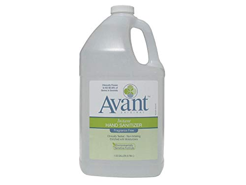 B4-17152 Avant Instant Hand Sanitizer Gel, 1 Gallon