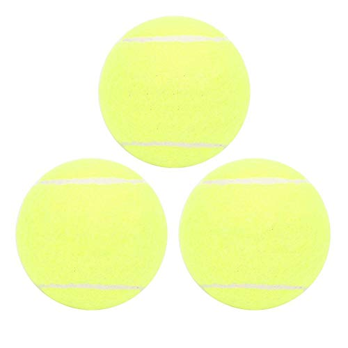 Keen so 3 stuks tennisballen professionele set, hoge sterkte, voor het trainen van tennisballen, van rubber, groen, voor…