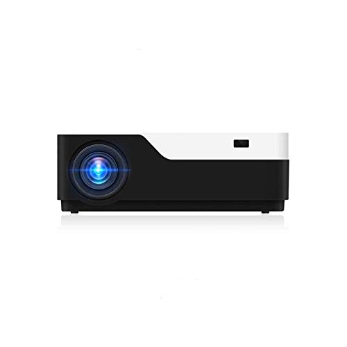 ZXNRTU Impresionante Calidad de Imagen Office Products Portable Video Projector BT Business & Home Theatre Proyector 400 Lumens 1920 x1080p Resolución for Oficina y Sala de Estar