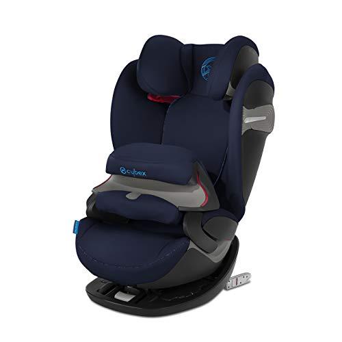 Cybex Gold Pallas S-Fix, 2-in-1 autostoeltje voor kinderen, voor auto's met en zonder ISOFIX, groep 1/2/3 (9-36 kg), vanaf ca. 9 maanden tot ca. 12 jaar. Kleurcollectie 2019. blauw (indigo blue)