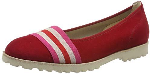 Gabor Shoes Gabor Jollys, Ballerines Femme, Rouge (Rubin Kombi 15),39 EU