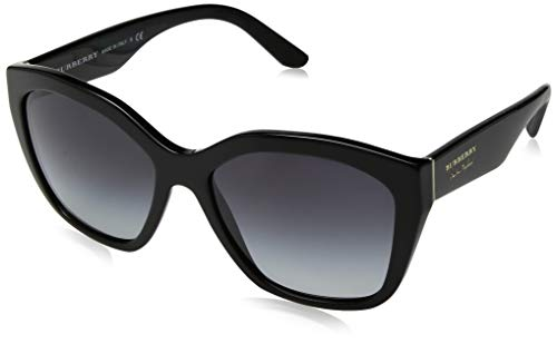 Burberry 0Be4261 30018G 57 Gafas de sol, Negro (Black/Gray), Mujer