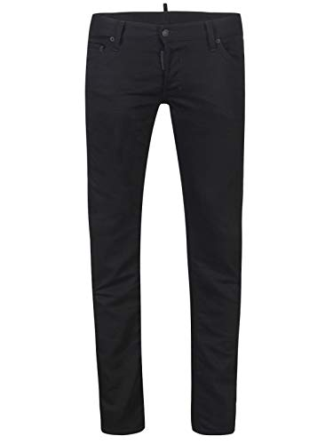 DSQUARED2 Dsquared2 Regular Clement, jeans voor heren, made in Italy zwart