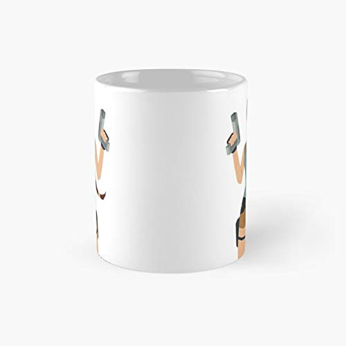 Pa.per L.ar.a Cr.oft Classic Mug - Gift The Office 11 Ounces Funny White Coffee Mugs-nilinkep