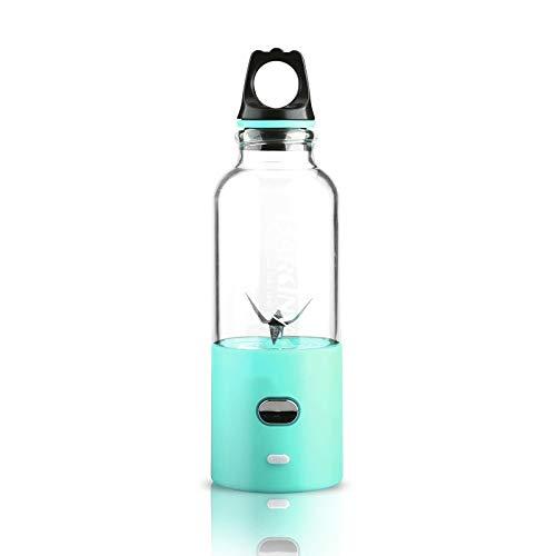 LISCENERY Licuadora portátil–Mini Botella eléctrica Personal Smoothie Maker Blender Cup con USB...