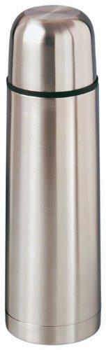 Isolierflasche Thermoskanne Thermokanne Flasche 1,0 ,L H�he 31,5 cm � 8,3 cm mattierter Edelstahl