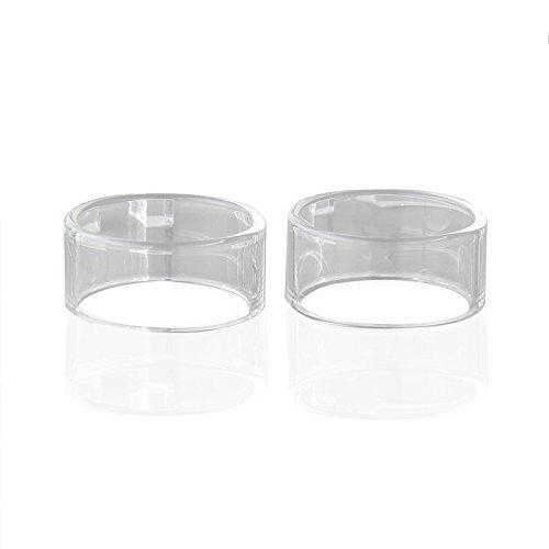 RUIYITECH- Tubo de Cristal para depósito de Vidrio para atomizador IJOY RDTA 5S 2 Pack