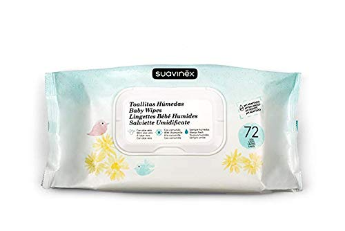 Toallitas humedas Suavinex pack 72 unidades (1 pack (72 toallitas))