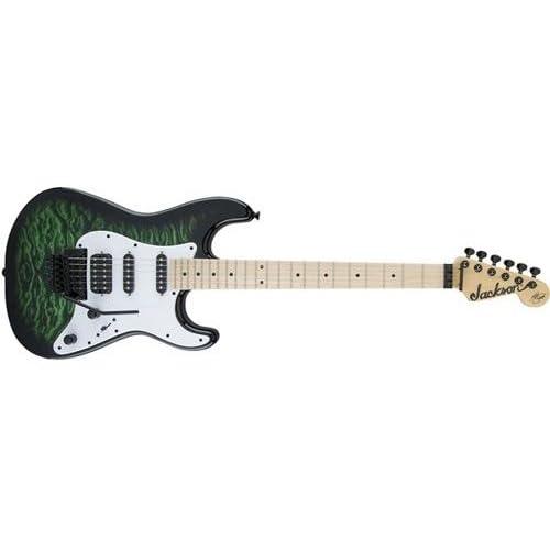 Amazon.com: Jackson X Series Signature Adrian Smith SDXQ Electric Guitar: Musical Instruments
