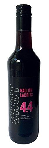 Götene Shot 4.4 Likör mit Himbeer- und Lakritzgeschmack aus Schweden (500 ml)