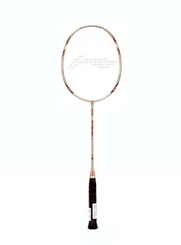 Li-Ning G-Tek 38-II Badminton Racquet (Strung), S2 Grip Size, (Gold)