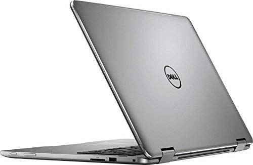 "Dell Top Performance Flagship 7000 Series Inspiron 17.3"" 2-in-1 FHD IPS Touch-Screen Laptop, Intel 8th Gen i7-8550U, 16GB DDR4, 512GB SSD + 2TB HDD, HDMI, USB-C, Backlit keyboard, NVIDIA MX150, Win 10"