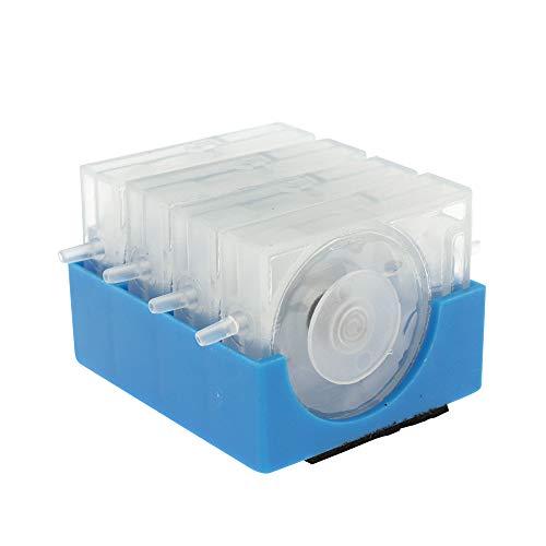 CISS Druckluftdrucker, Tintensteuerungsventile, 4 Farben, für Canon für HP für Epson für Brother Tintenstrahldrucker