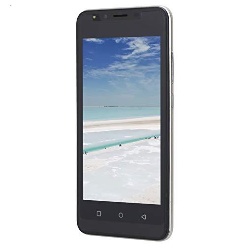 Sojare 5.0in HD Teléfono de Pantalla Completa, P48 Reconocimiento Facial Desbloqueo de Huellas Dactilares Tarjeta Dual Teléfono móvil de Doble Modo de Espera, Teléfono Celular con cámara HD(Oro)