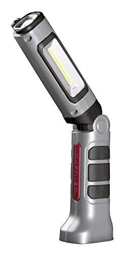 Kraftwerk 32071 Linterna de mano LED COB de 3,7 V, ion de...