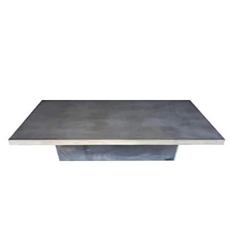 Mathi Design salontafel beton staal Duo