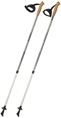 Hudora - Bastones telescópicos Nordic Walking Aluminio