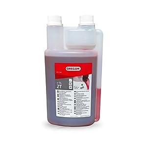 2 x Medidor de aceite con tapa - Dosificador para mezcla de ...