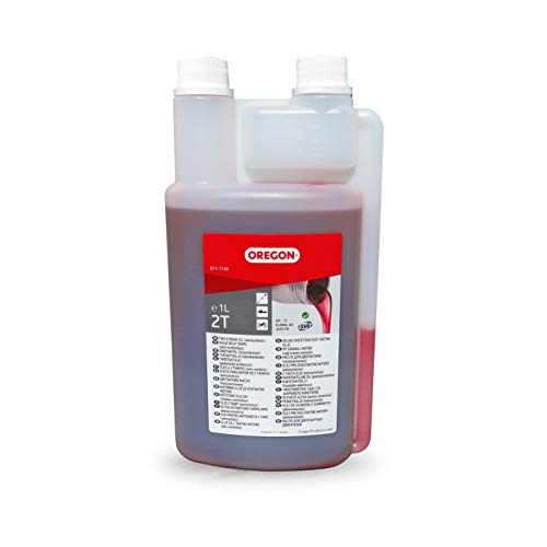 Oregon O11-1140 - 1 litro de aceite de 2 tiempos