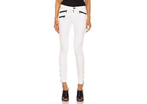 rag & bone/Jeans Women's RBW 23 Crop Stretchy Jeans in Bright White (29)