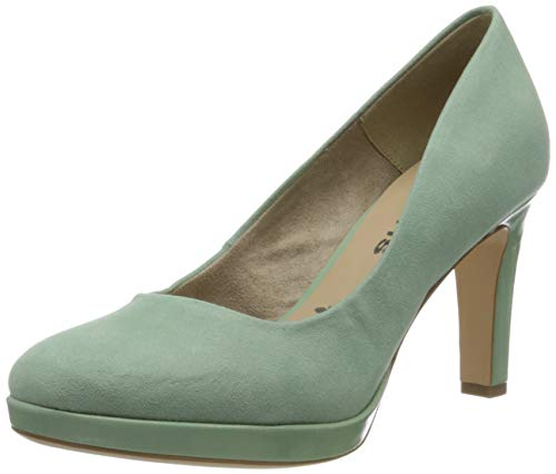 Tamaris Damen 1-1-22408-24 Pumps, Grün (Mint 760), 39 EU